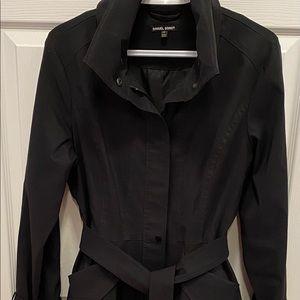 Samuel Dong Womens Black Parka Coat - Size S